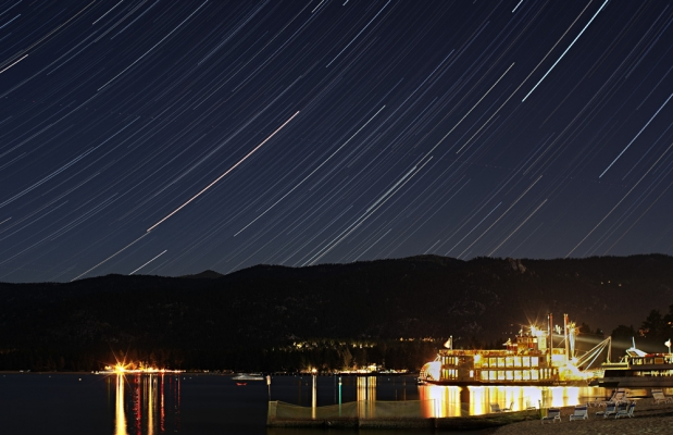 Sample Star Trails Photo