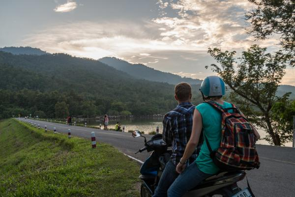 Chiang Mai Sunset, Thailand, 2013
