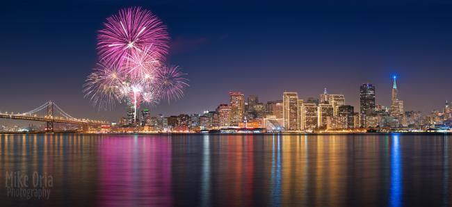 mike oria sanfran fireworks
