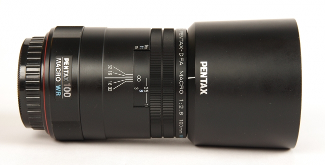 Pentax D FA 100mm Macro WR
