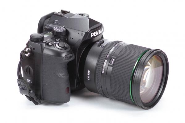 Lens on camera