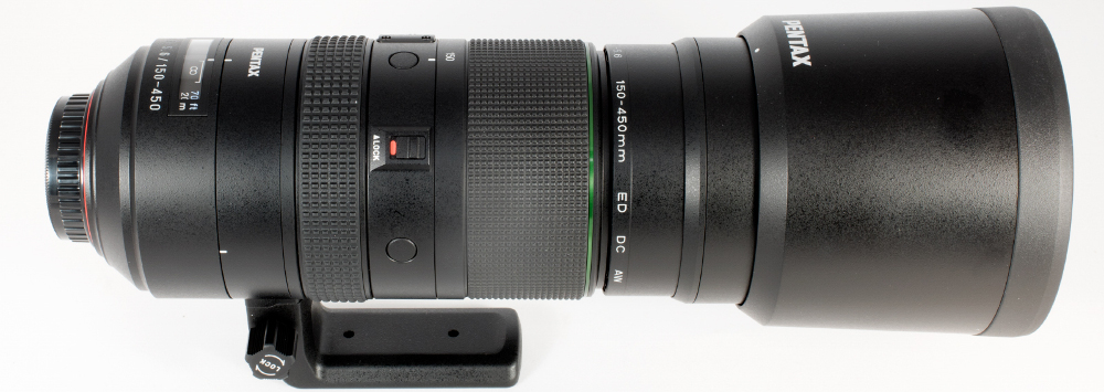HD Pentax D-FA 150-450mm F4.5-F5.6 Review Posted