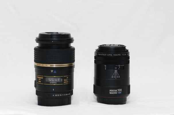 Two macro lenses