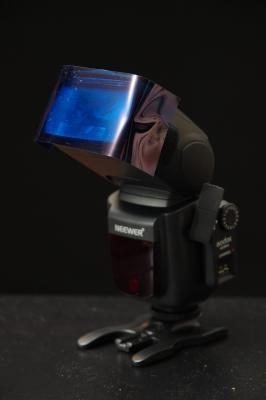 Flash with gel