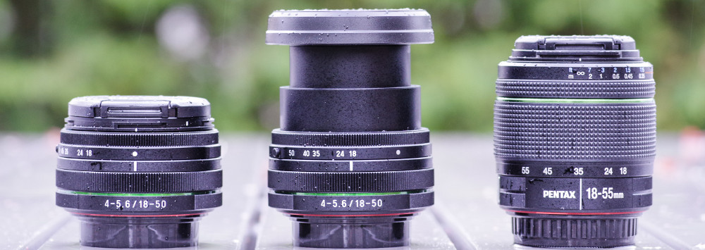 Pentax 18-50mm and 18-55mm Kit Lens Comparison