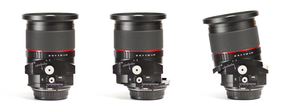 Rokinon 24mm Tilt-shift F3.5 Review Posted