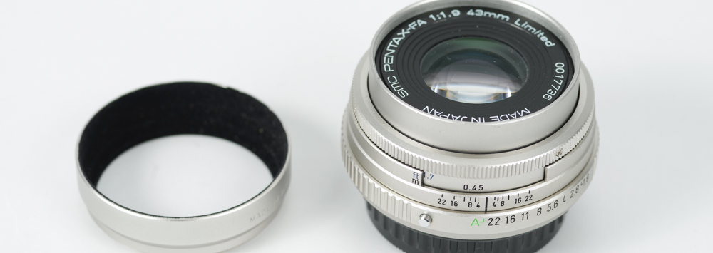 Pentax FA 43mm F1.9 Limited Review Posted