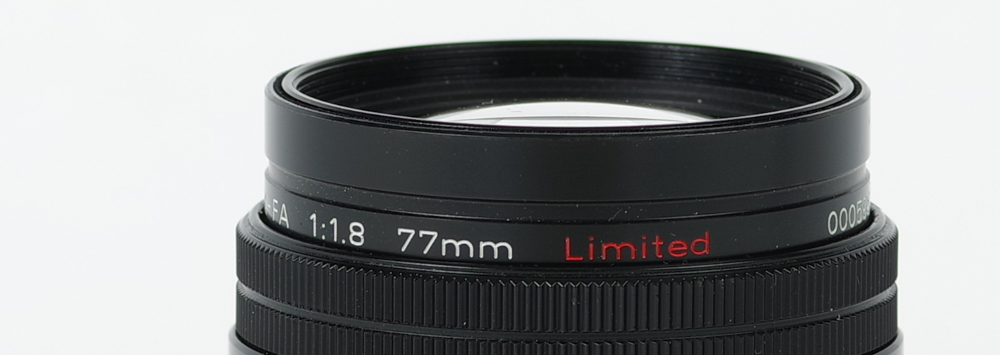 Pentax FA 77mm F1.8 Limited Review Posted