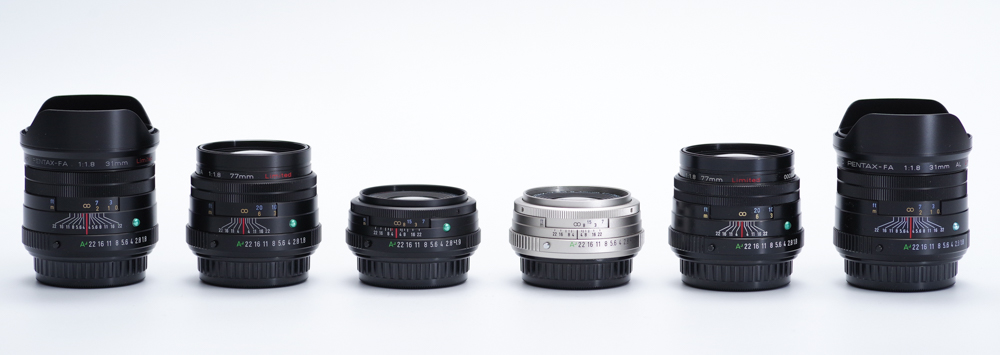 Comparative Review: HD vs SMC Pentax FA Limited Lenses
