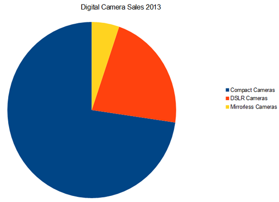 Digital Camera Sales 2013