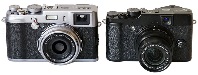Fuji X100 vs. X10 and Mini-Review