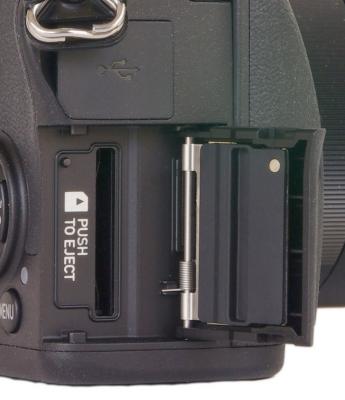 SD card door