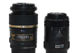 Tamron 90mm Macro vs Pentax 100mm WR: Review