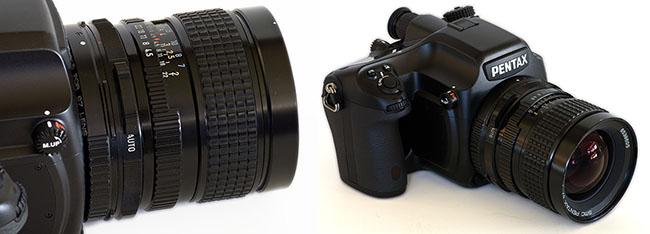 pentax 645d vs nikon d3x review construction and handling rh pentaxforums com Pentax 645 Lens Shutter Leaf Camera Pentax 645 Loading
