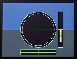 Electronic Level Display