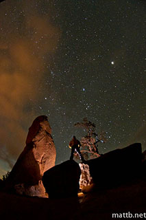 Shooting a Starscape