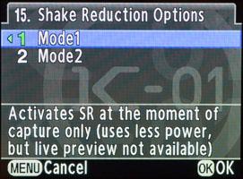 SR Modes