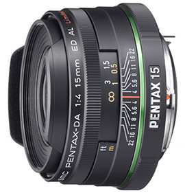 Pentax-DA 15mm F4 Limited Review