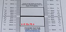 K5 IIs F5.6