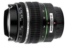 Pentax-DA 10-17mm F3.5-4.5 Fish-eye