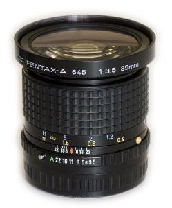 Pentax-A 645 35 mm lens