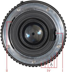 K-mount Components