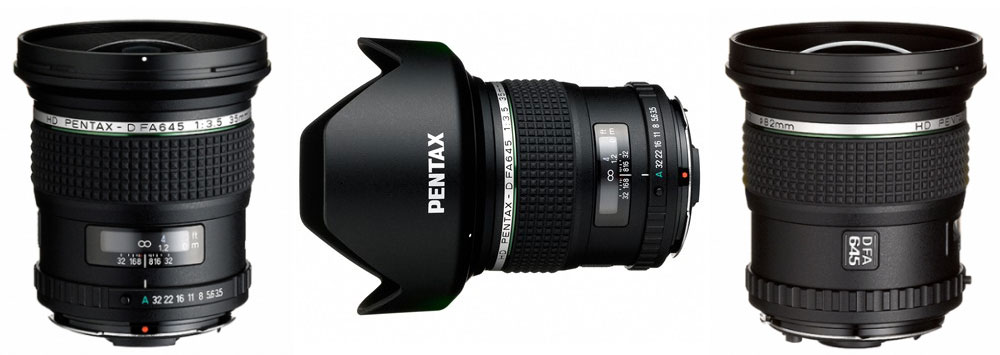 HD Pentax-D FA 645 35mm F3.5 Announced