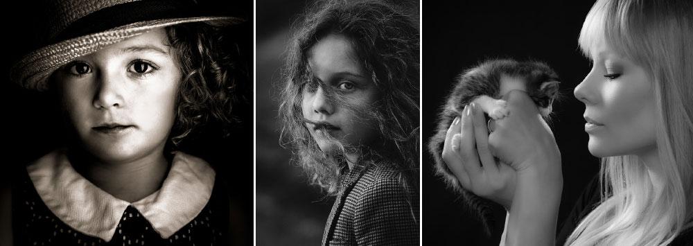 """Portraits in Monochrome"" Photo Contest Winners"