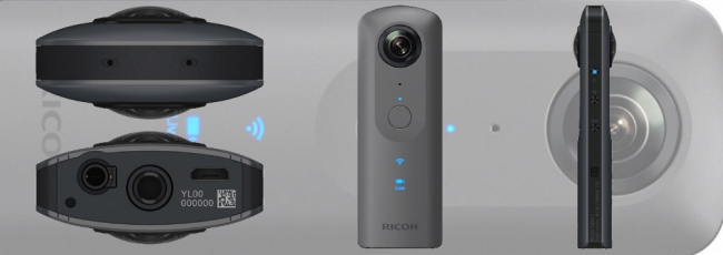 Ricoh Theta V 4K Spherical Camera Announced