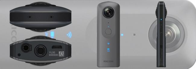 Ricoh Theta V 4K Spherical Camera Announced
