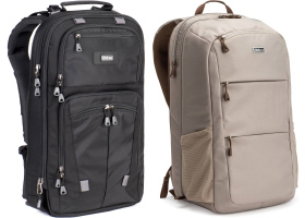 Think Tank Shape Shifter 17 v2 and Perception Pro backpacks review