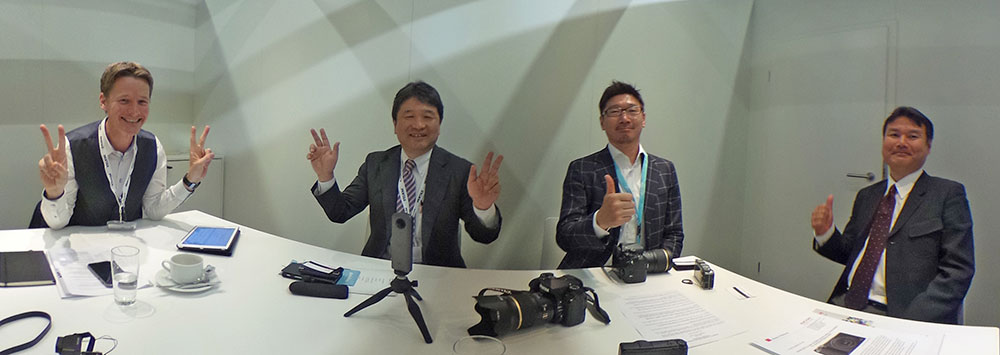 Interview with Ricoh Imaging - Photokina 2018