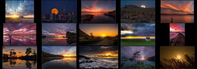 "September ""Sunset or Moonrise"" Contest Finalists Announced"