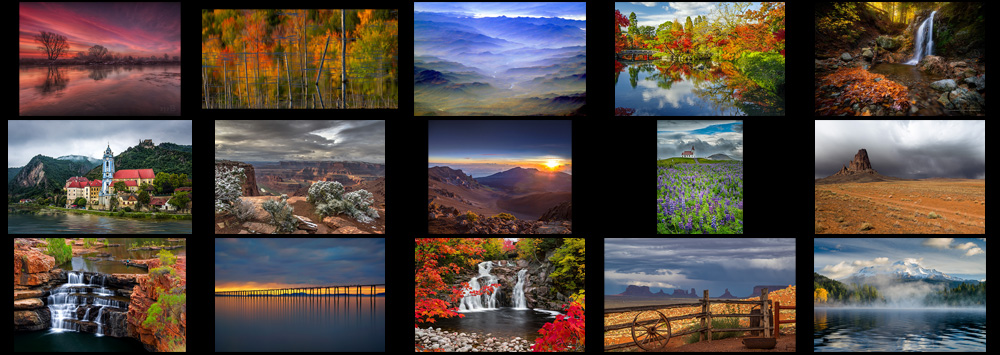 """March """"Landscape in Color"""" Contest Finalists Announced"""