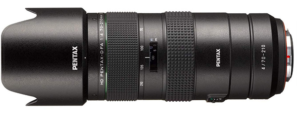 HD Pentax-D FA 70-210mm F4 Officially Announced