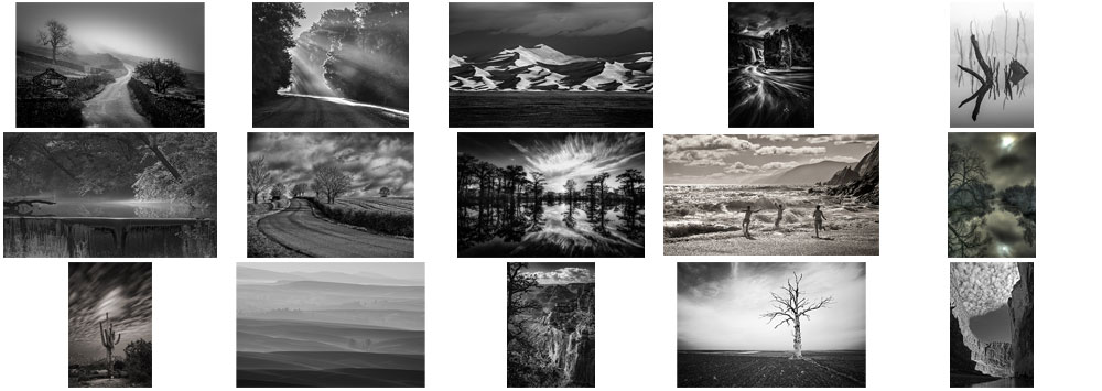 "February ""Landscape in Monochrome"" Contest Finalists Announced"