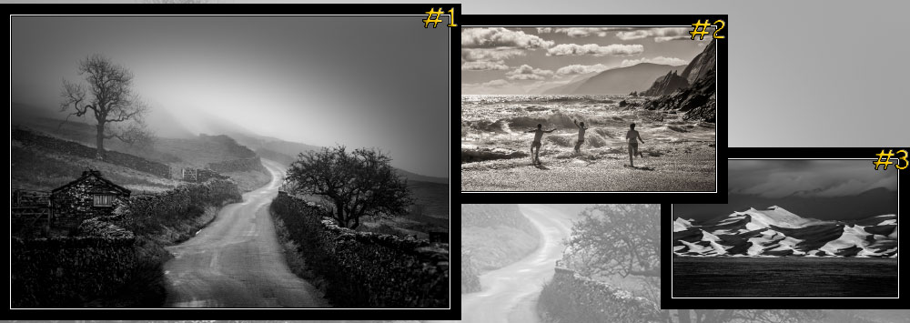 "February's ""Landscape in Monochrome"" Contest Winners"