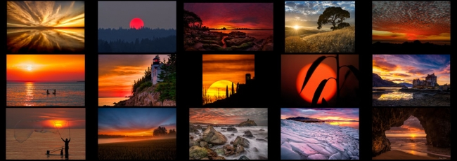 "July ""Sunset"" Contest Finalists Announced"