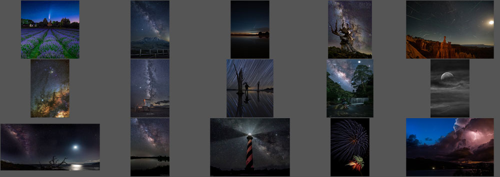"""August """"Night Sky"""" Contest Finalists Announced"""