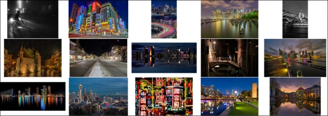 """February """"Cityscape by Night"""" Contest Finalists Announced"""