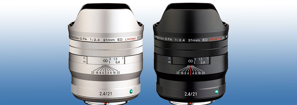 HD Pentax-D FA 21mm F2.4 Limited Lens Officially Announced