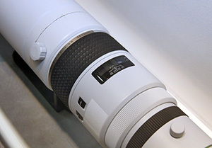 DA 560mm F5.6 Lens at CP+ 2012