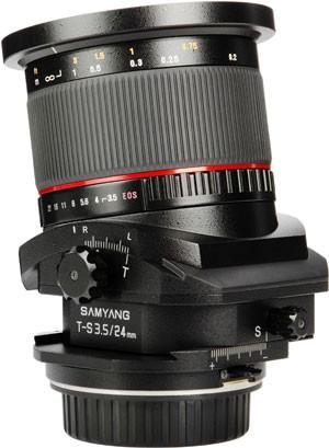 Finally a Tilt and Shift Lens for Pentax