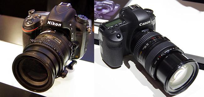 Canon and Nikon Enthusiast Full-Frames at Photokina