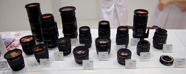 Lens line-up click to enlarge