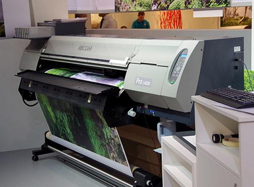 The Giant Ricoh Printer