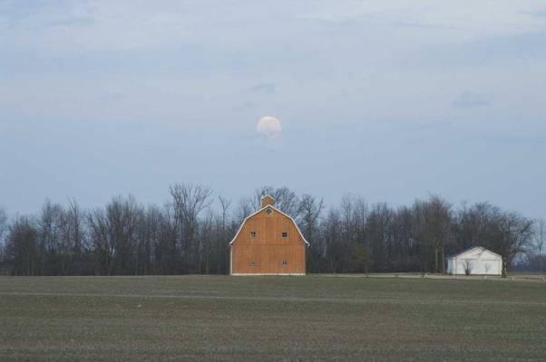 Original moonscape photo