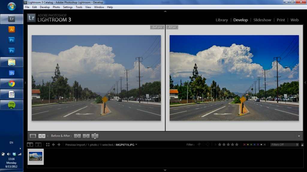 Experience and Lightroom 3 - Influential Photo Gear | PentaxForums.com