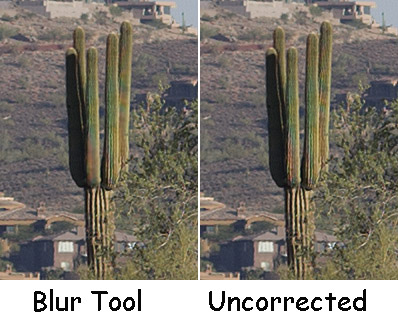 blur tool comparison
