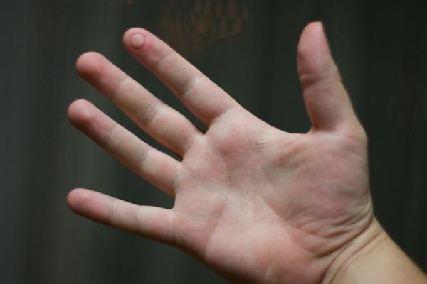 The Photographer's Hand